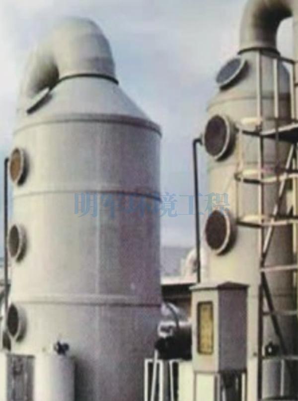漆雾喷淋塔净化设备